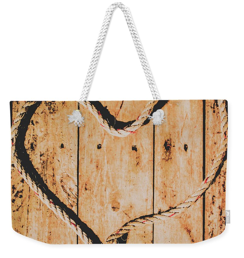 Maritime Weekender Tote Bag featuring the photograph Sailing Love With No Strings Attached by Jorgo Photography - Wall Art Gallery