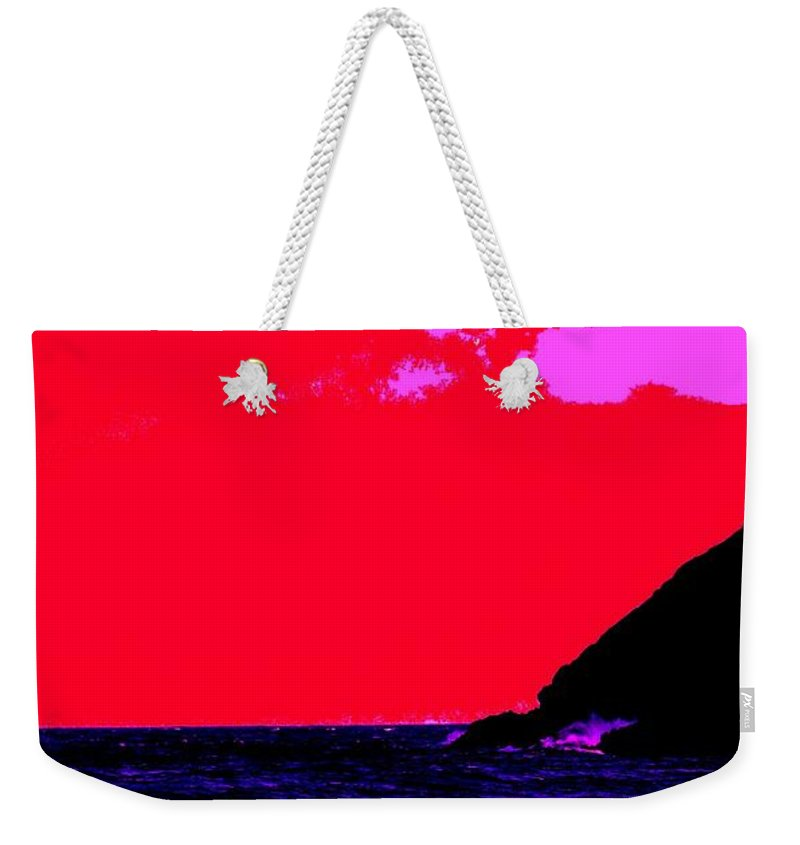 Morning Weekender Tote Bag featuring the photograph Sailor Take Warning by Ian MacDonald