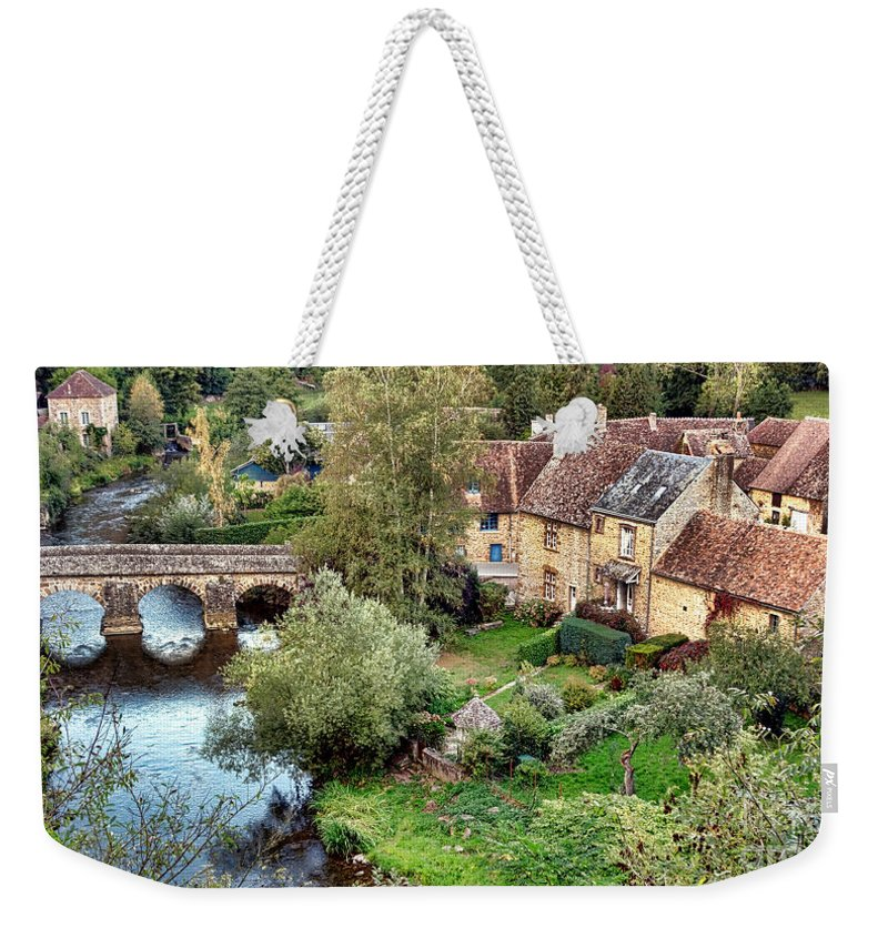 Saint Weekender Tote Bag featuring the photograph Saint Ceneri Le Gerei by Olivier Le Queinec