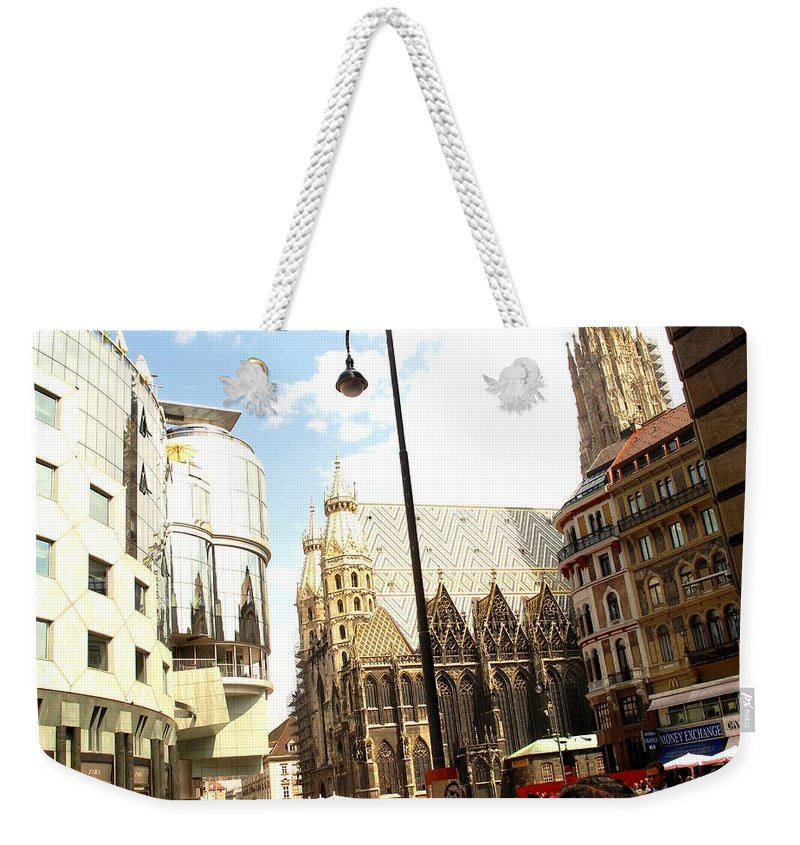 St Weekender Tote Bag featuring the photograph Saint Stephen by Ian MacDonald