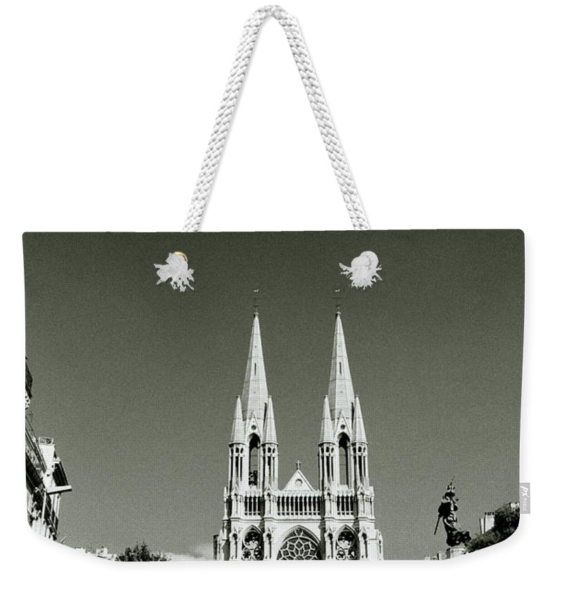 Marseille Weekender Tote Bag featuring the photograph Saint Vincent De Paul Marseille by Shaun Higson