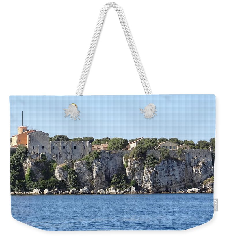 Weekender Tote Bag featuring the photograph Sainte Marguerite, Near Cannes by Andres Chauffour