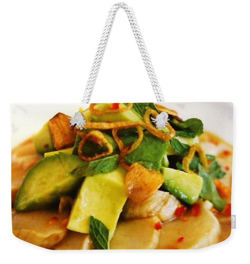 Figs Weekender Tote Bag featuring the photograph Salad by Lord Frederick Lyle Morris - Disabled Veteran