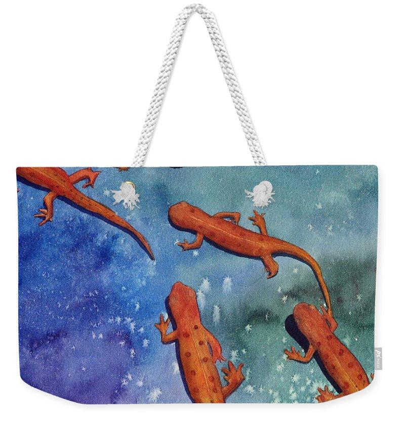 Newt Weekender Tote Bags