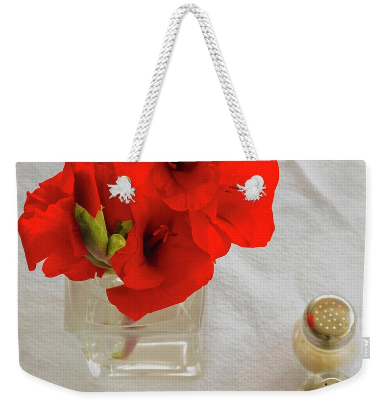 Flowers Weekender Tote Bag featuring the photograph Salt And Pepper by James Burton