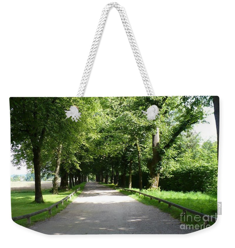 Austria Weekender Tote Bag featuring the photograph Salzburg Lane by Carol Groenen