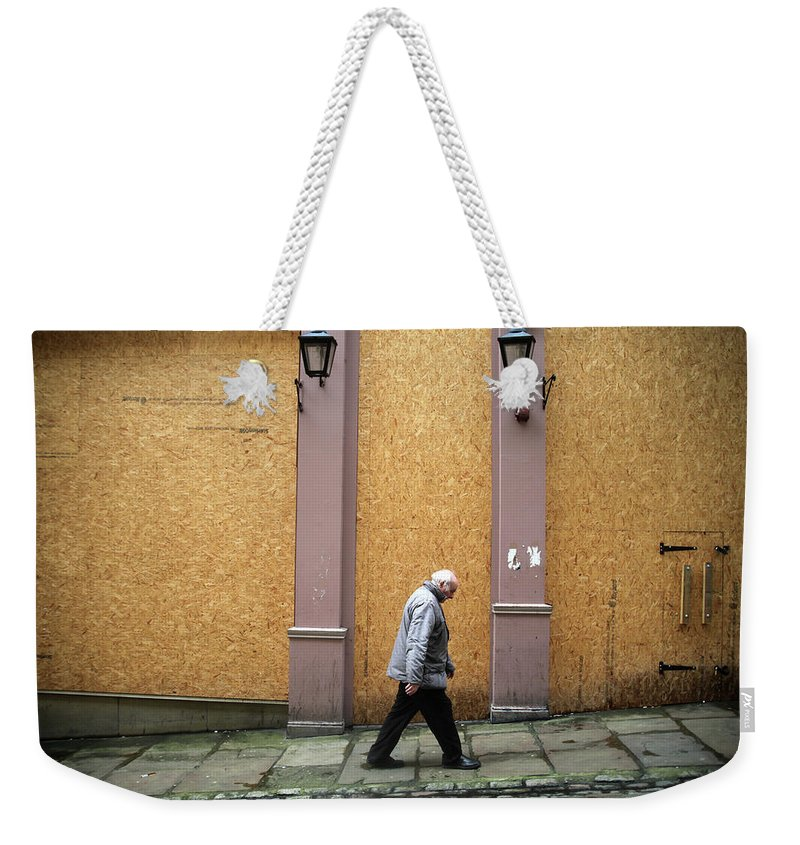 Weekender Tote Bag featuring the photograph Same Old Hill For Me by Jez C Self