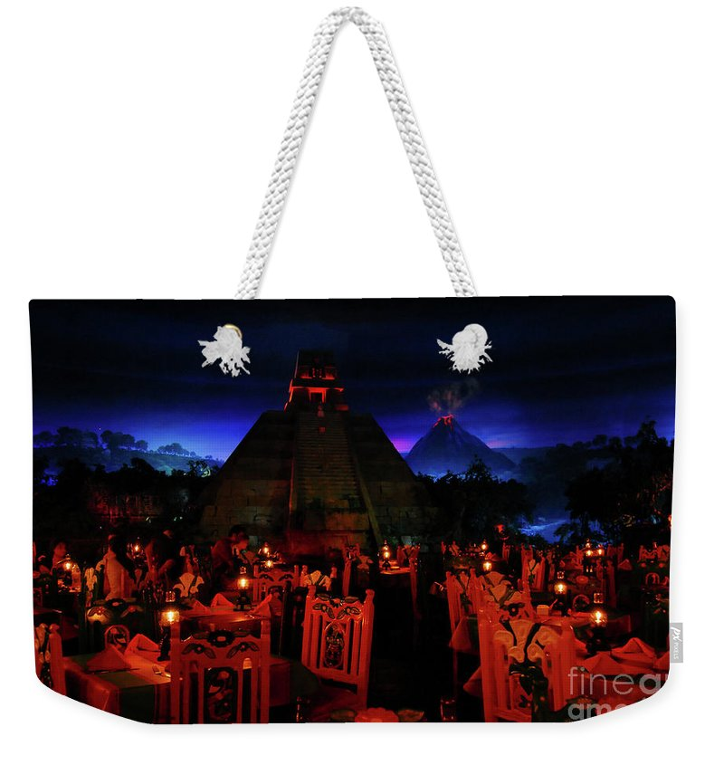 Fine Art Photography Weekender Tote Bag featuring the photograph San Angel Inn Mexico by David Lee Thompson