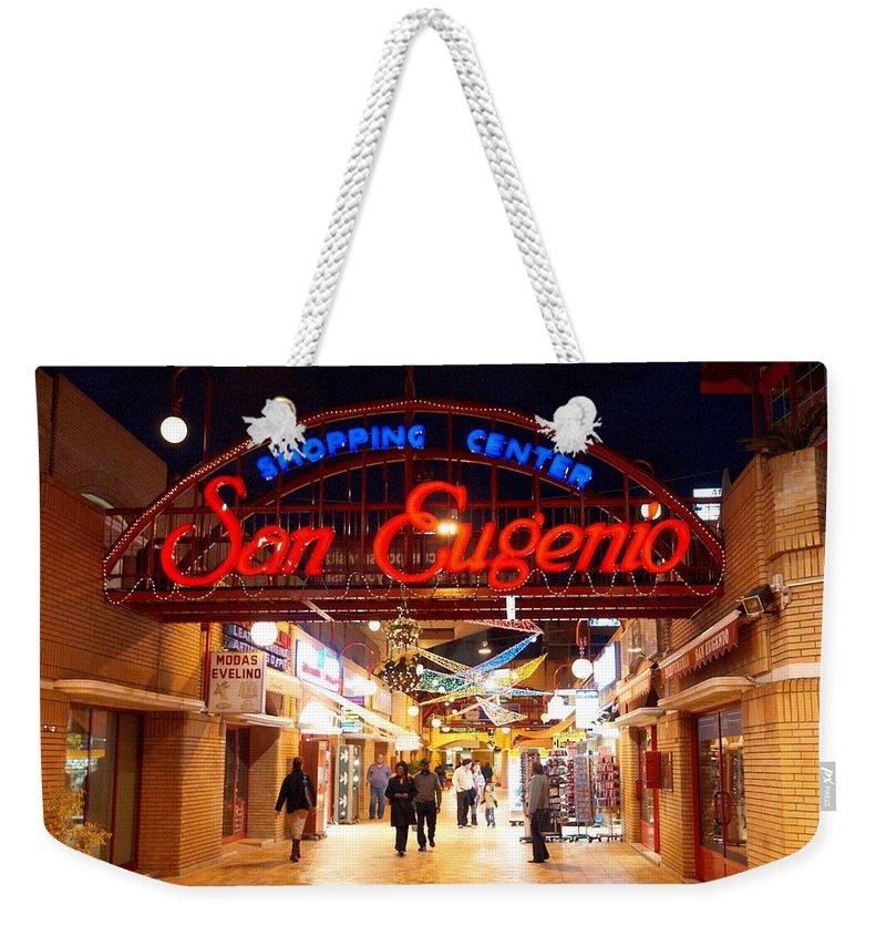 Spain Weekender Tote Bag featuring the photograph San Eugenio 1 by Jouko Lehto