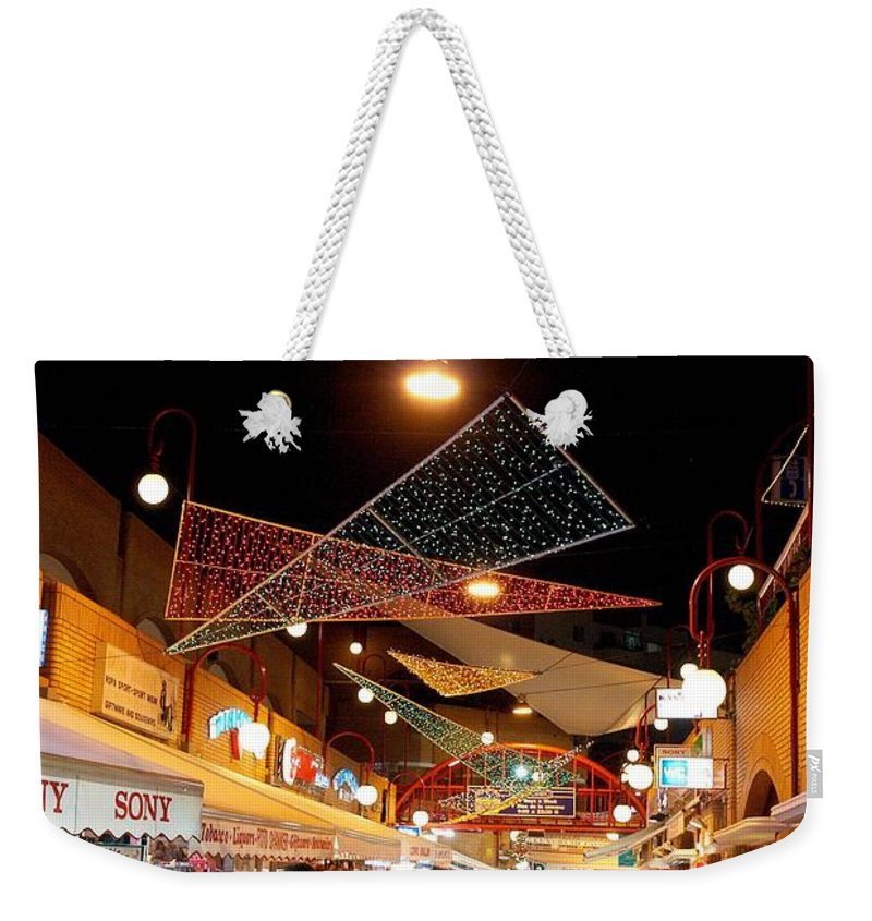 Spain Weekender Tote Bag featuring the photograph San Eugenio 2 by Jouko Lehto