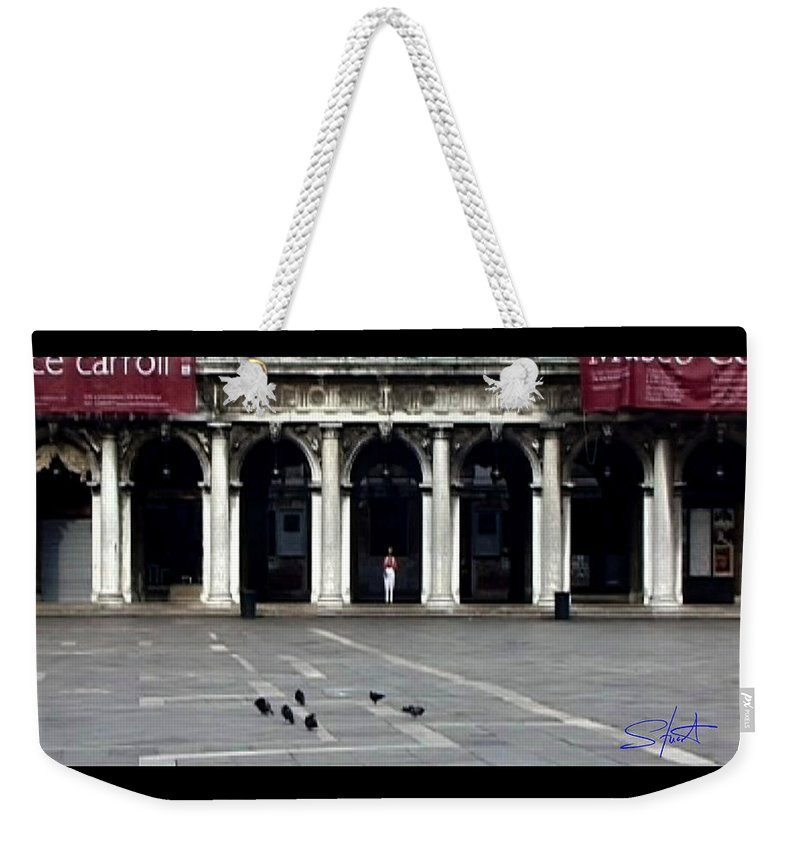 Venice Weekender Tote Bag featuring the photograph San Marco Venice by Charles Stuart