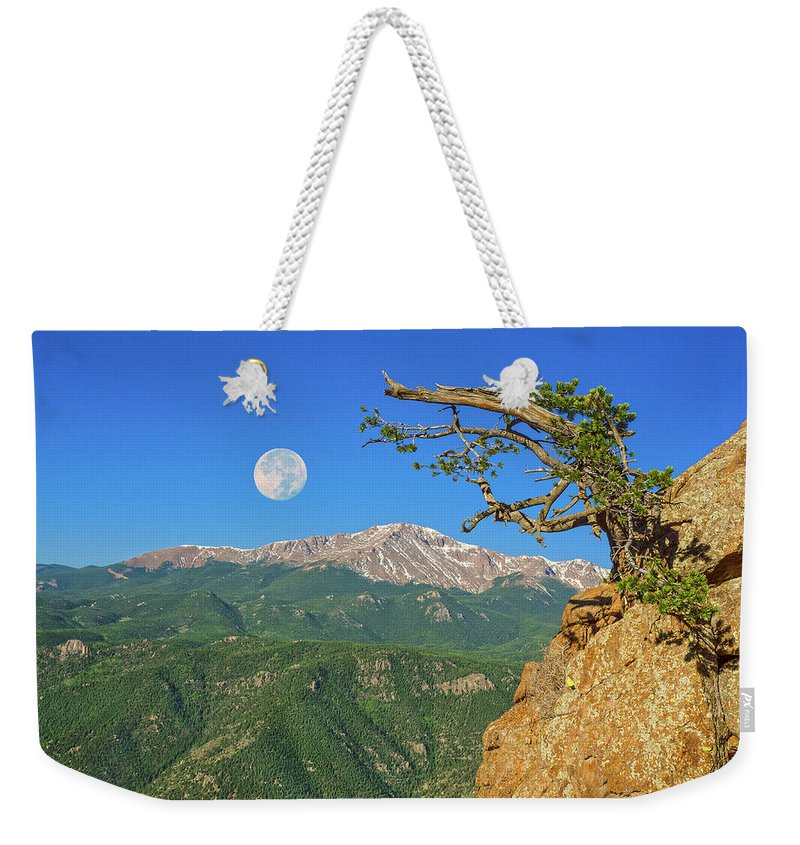 The Pikes Peak Region Weekender Tote Bag featuring the photograph Sanctity Of Nature, The Impetus Behind My Photography by Bijan Pirnia