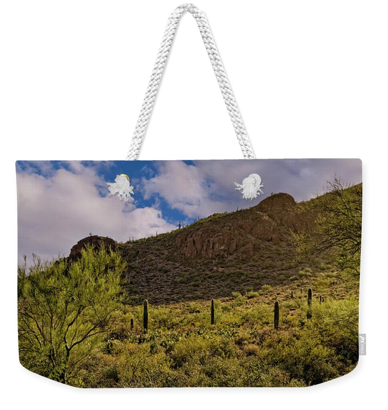 Myhaver Photography Weekender Tote Bag featuring the photograph Sanctuary Cove V25 by Mark Myhaver
