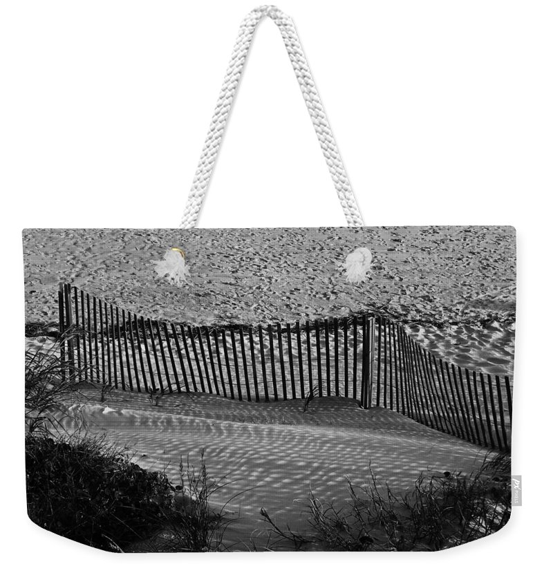 Ocean Weekender Tote Bag featuring the photograph Sand And Shadows by Teresa Mucha