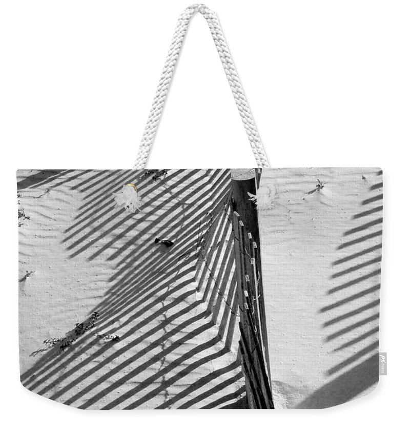 Beach Weekender Tote Bag featuring the photograph Sand And Sun by Robert Meanor