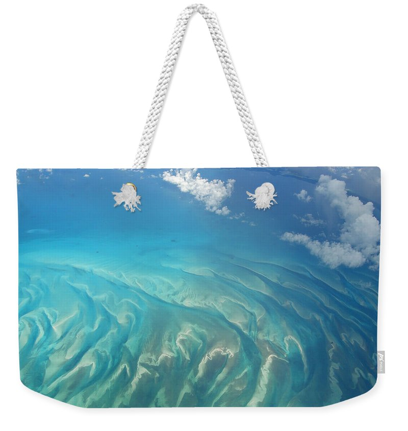 Ocean Weekender Tote Bag featuring the photograph Sand Banks by Kimberly Mohlenhoff