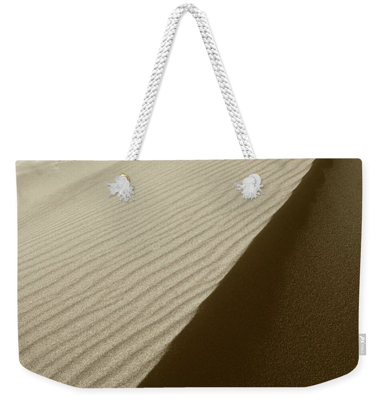 Dunes Weekender Tote Bag featuring the photograph Sand Dunes by Steve Williams