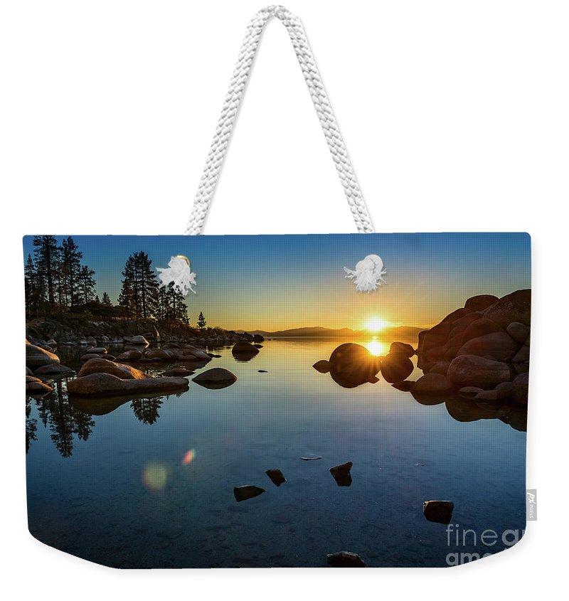 Lake Tahoe Weekender Tote Bags