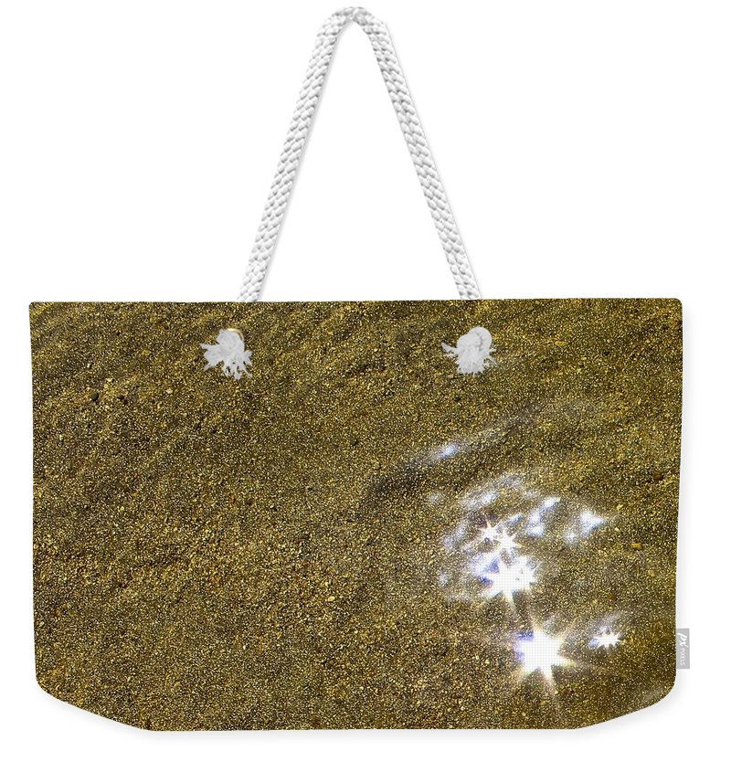 Landscape Weekender Tote Bag featuring the photograph Sand Stars by FlyingFish Foto