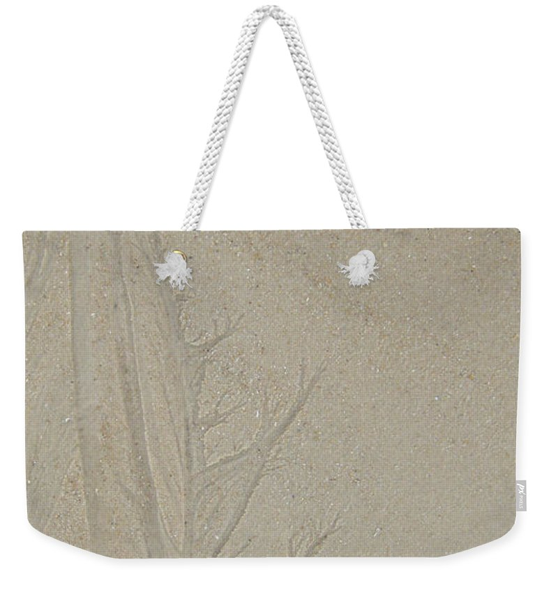 Sand Tree Weekender Tote Bag featuring the photograph Sand Tree 2 by Heidi Sieber