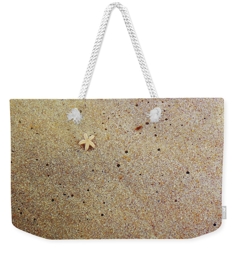 Star Weekender Tote Bag featuring the photograph Sands Of Happiness by JAMART Photography