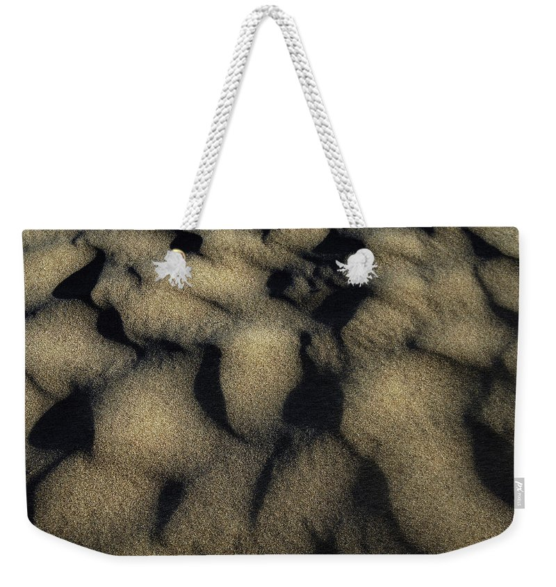 Sand Weekender Tote Bag featuring the photograph Sands Of Time by Donna Blackhall