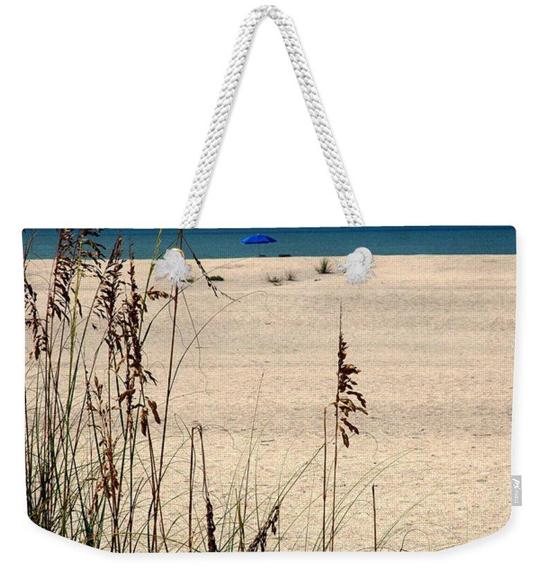 Sanibel Island Weekender Tote Bag featuring the photograph Sanibel Island Beach Fl by Susanne Van Hulst