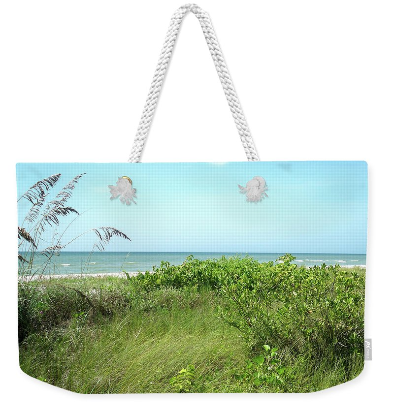Florida Weekender Tote Bag featuring the photograph Sanibel Island by Chris Andruskiewicz