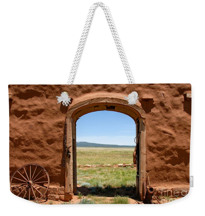 Santa Fe Trail Weekender Tote Bag featuring the photograph Santa Fe Trail by David Lee Thompson