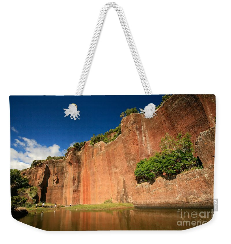 Walls Weekender Tote Bag featuring the photograph Santa Maria Azores by Gaspar Avila