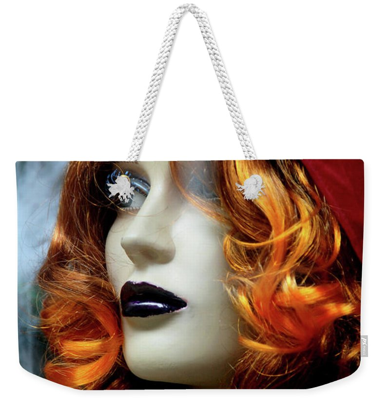Leeds Weekender Tote Bag featuring the photograph Sarfie by Jez C Self