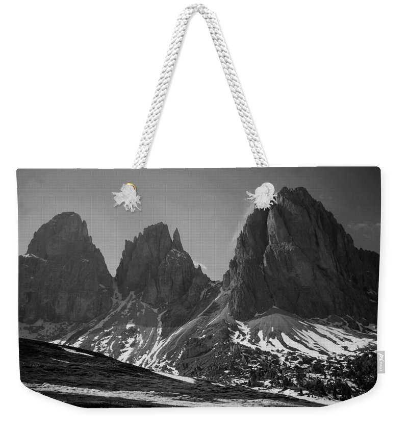 Europe Weekender Tote Bag featuring the photograph Sasso Lungo by Juergen Weiss