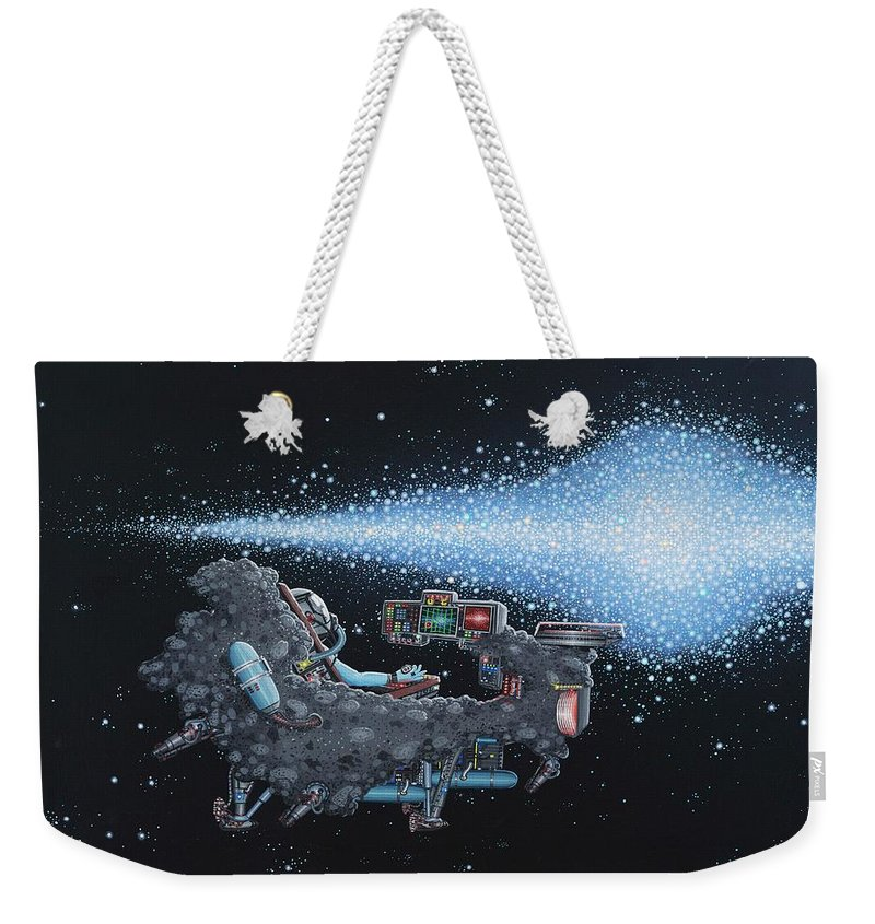 Spacescape Weekender Tote Bags