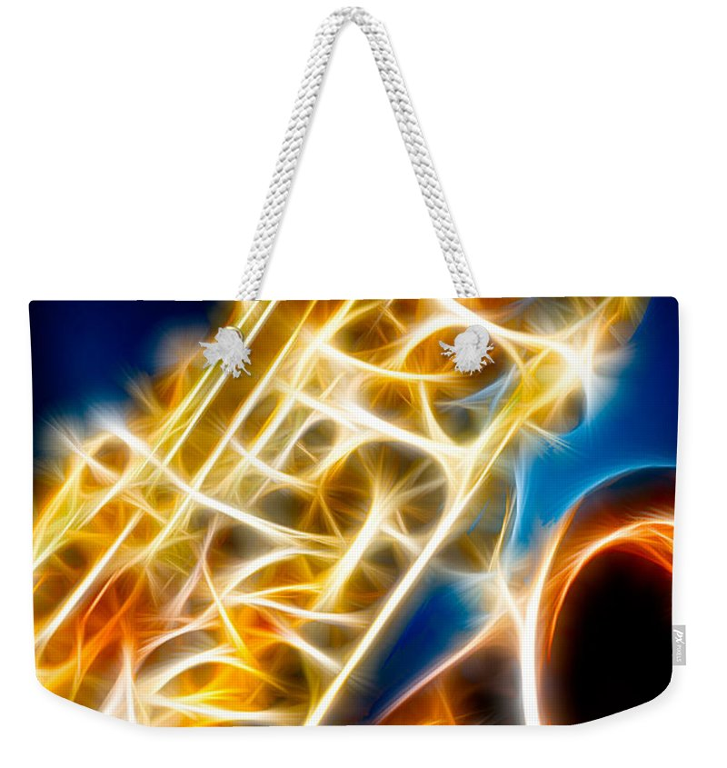Canon Weekender Tote Bag featuring the photograph Saxophone 2 by Hakon Soreide