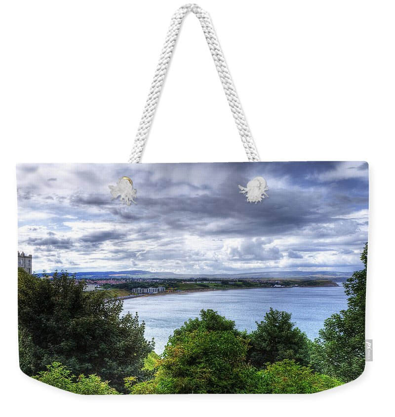 Beach Weekender Tote Bag featuring the photograph Scarborough Bay by Svetlana Sewell