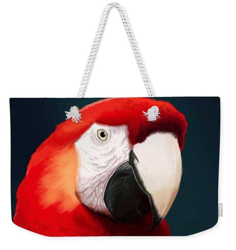 Macaws Weekender Tote Bags