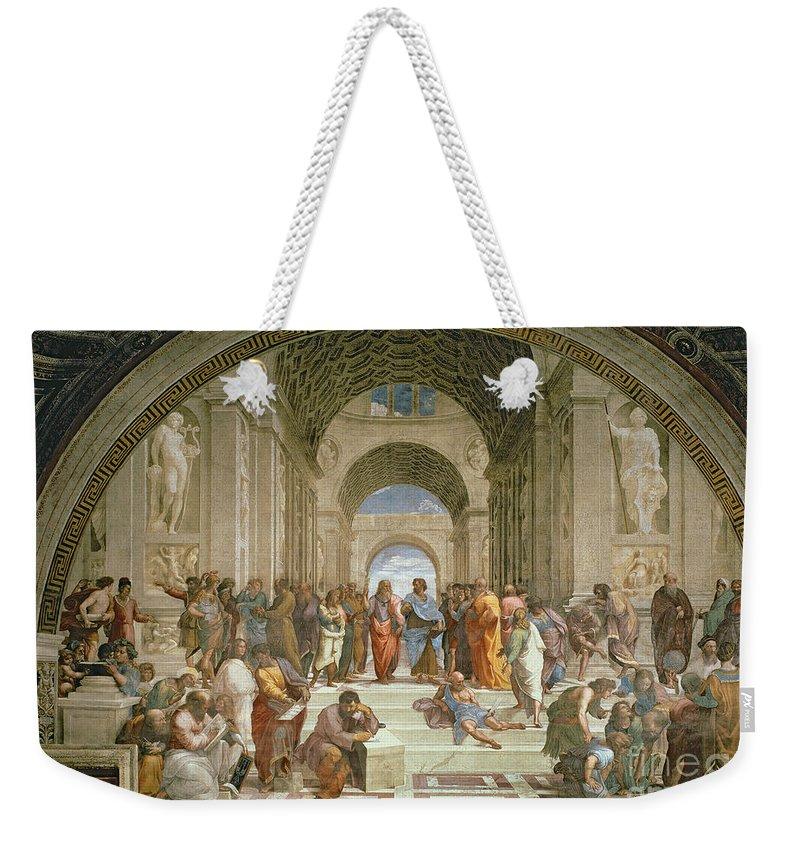 Philosopher Weekender Tote Bags