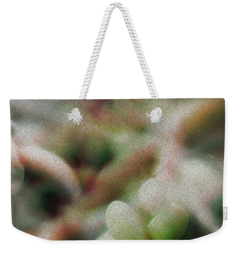 Palm Pods Weekender Tote Bag featuring the photograph School Of Curiosity 11 by Vicki Ferrari