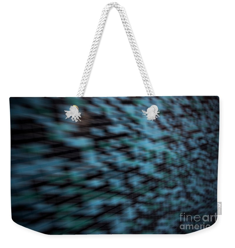 White Weekender Tote Bag featuring the photograph School Of Fish by Dorothy Hilde
