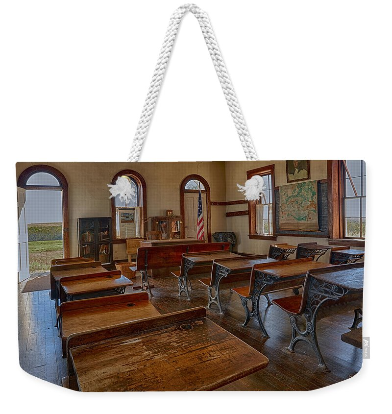 School Weekender Tote Bag featuring the photograph Schools Out by Michael J Samuels