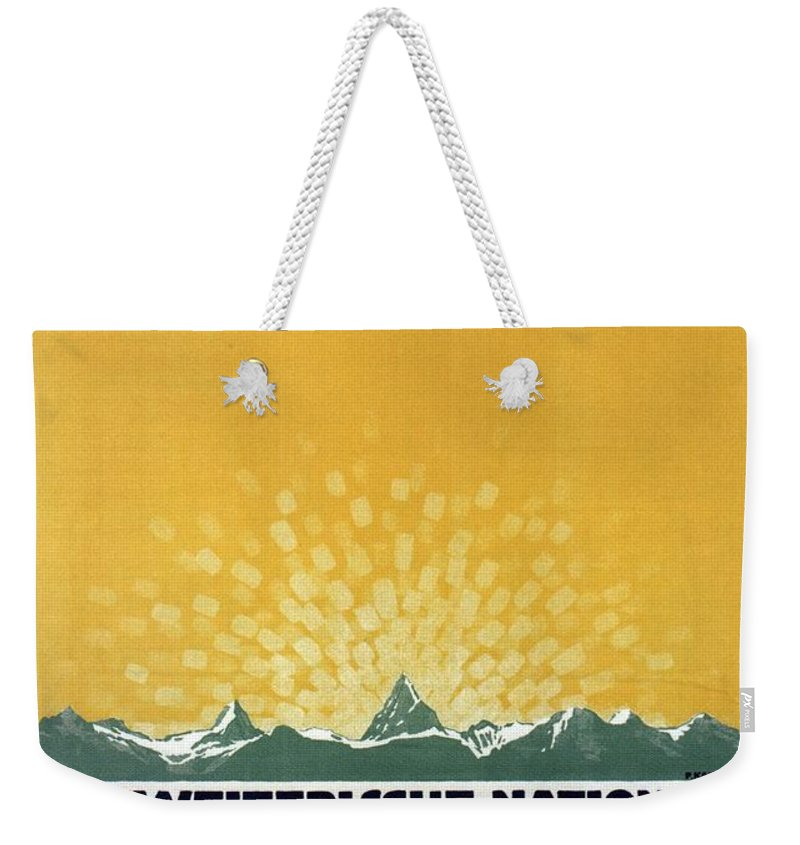 Donation Mixed Media Weekender Tote Bags