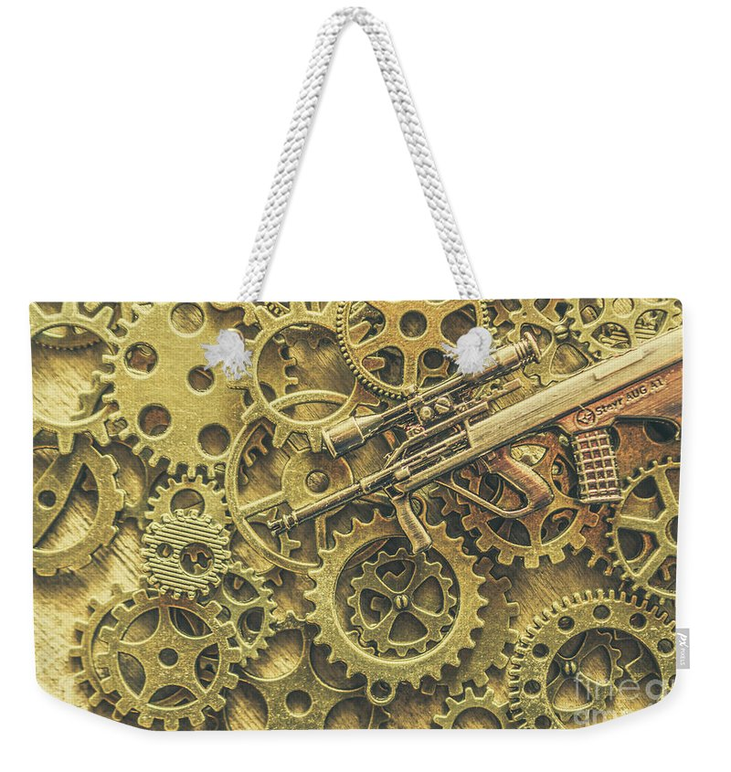 Special Weekender Tote Bag featuring the photograph Scope Of Special Forces by Jorgo Photography - Wall Art Gallery