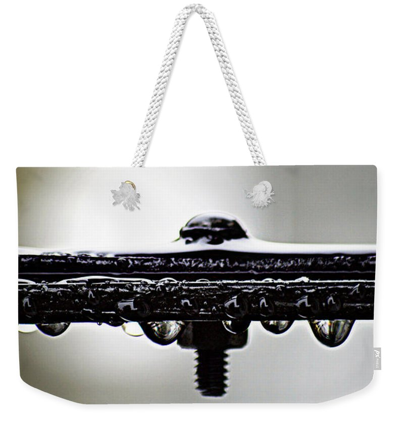 Rain Weekender Tote Bag featuring the photograph Screw This Rain by Lisa Knechtel