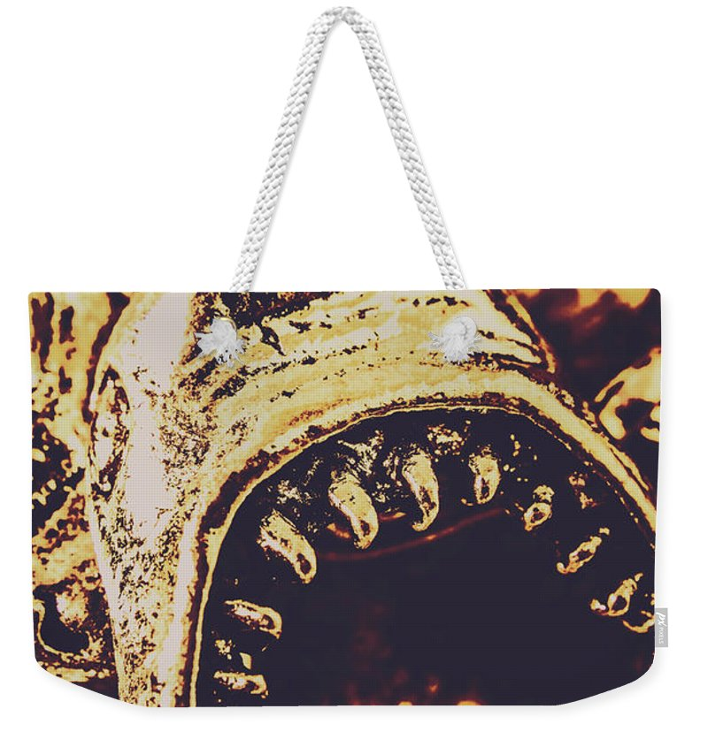 Maritime Weekender Tote Bag featuring the photograph Sea Bites by Jorgo Photography - Wall Art Gallery
