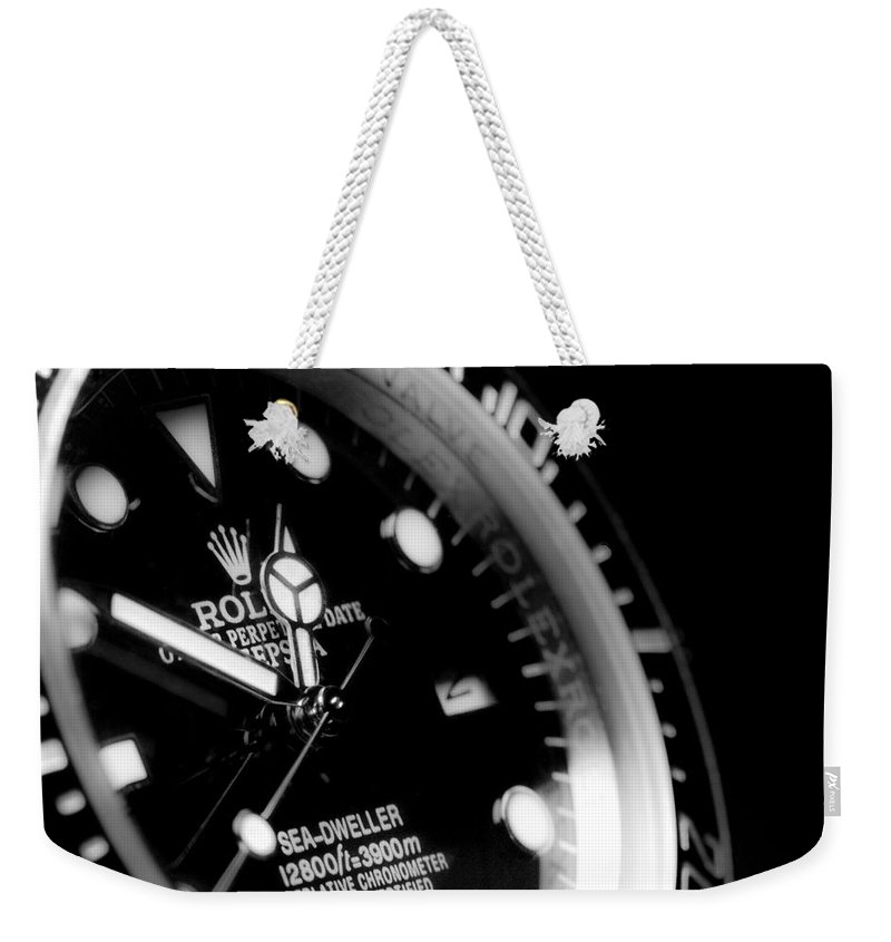 Bezel Weekender Tote Bag featuring the photograph Sea Dweller by SR Green