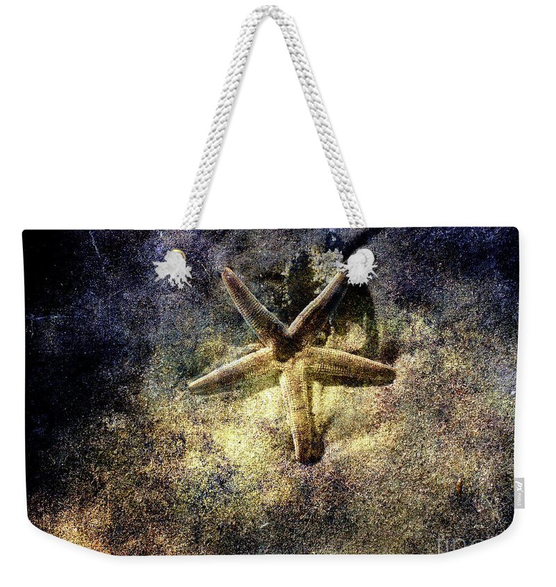 Sea Star Weekender Tote Bag featuring the photograph Sea Star by Susanne Van Hulst