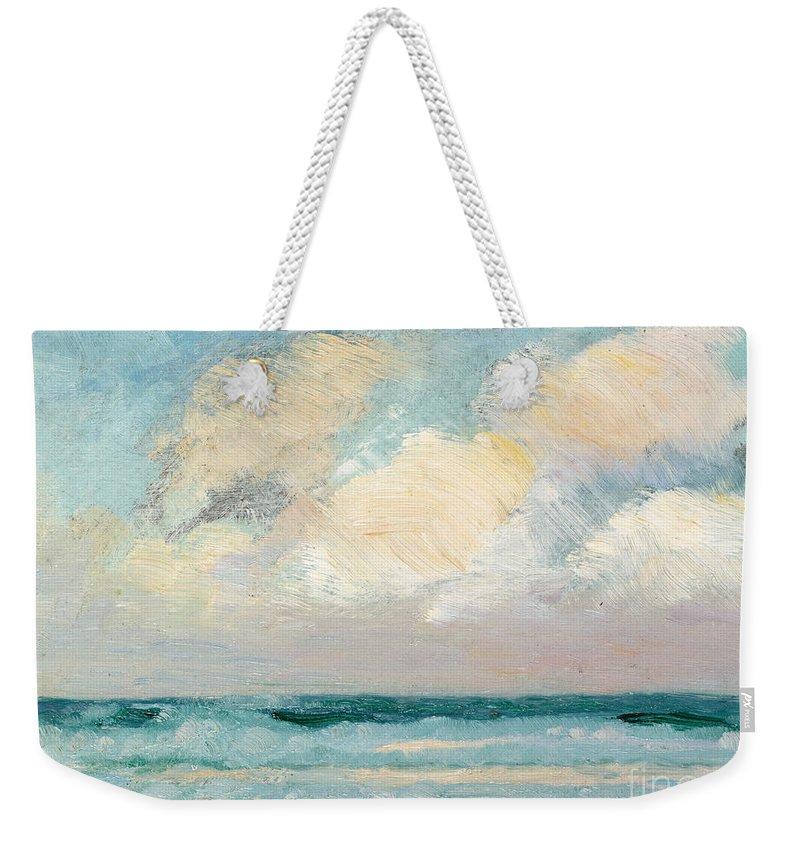 Sky Cloudy Weekender Tote Bags