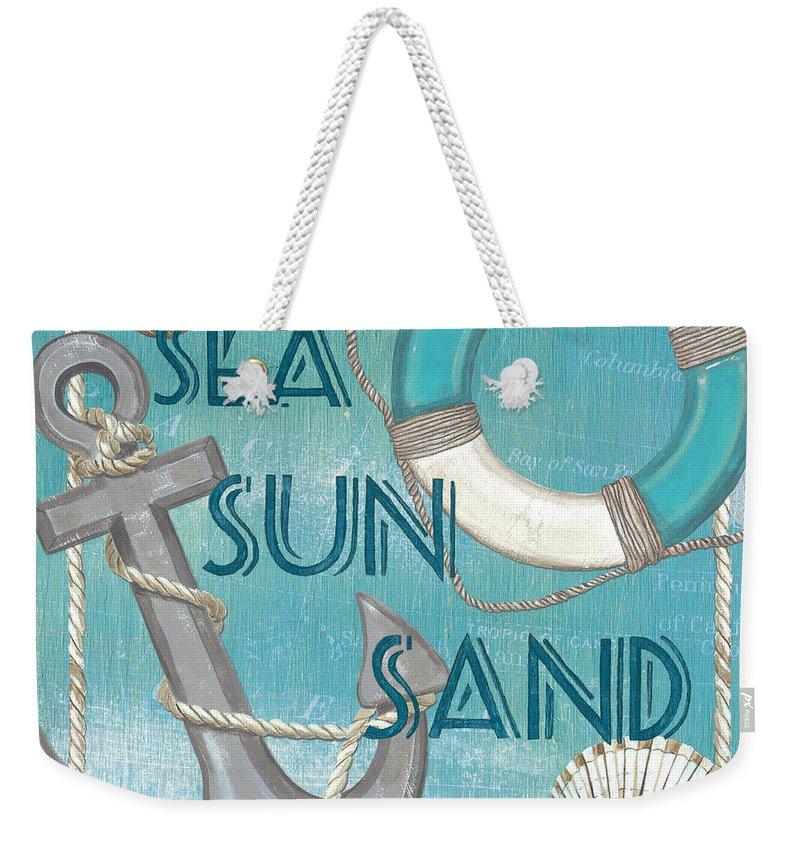 Coast Weekender Tote Bags