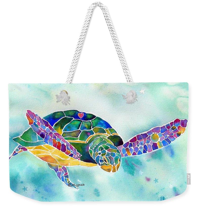 The WEEKENDER Bag Beach Tote Sea Turtles Canvas