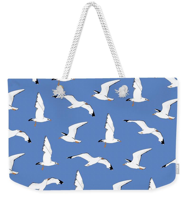 Seagull Weekender Tote Bags